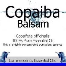 copaiba balsam label