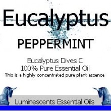 peppermint eucalyptus label
