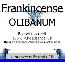 Frankincense olibanum