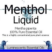 menthol liquid essential oil