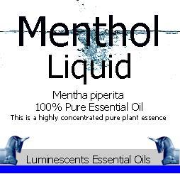 menthol liquid essential oil