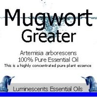 Great Mugwort Label