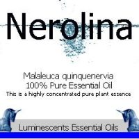 nerolina essential oil label