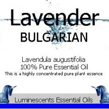 lavender bulgarian label
