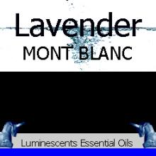 lavender mont blanc label
