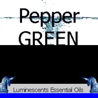 Green Pepper essential oil label