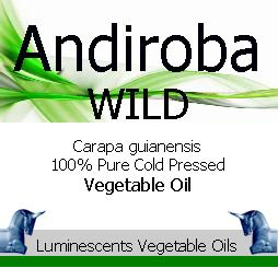 wild andiroba vegetable oil