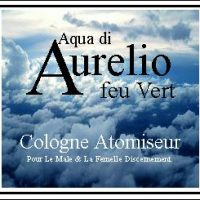 Aurelio feu Vert Ciologne Atomiseur