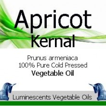apricot kernal cold pressed vegetable oil