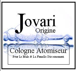 Jovari origine cologne atomiseur