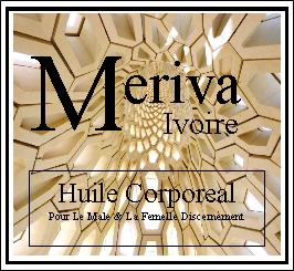 Meriva Ivoire Huile Corporeal