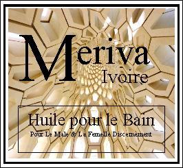 Meriva Ivoire Bath Oil