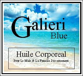 Galieri Blue Huile Corporeal