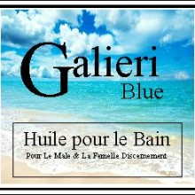galieri blue bath oil