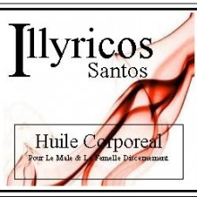 illyricos santos body oil