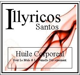 illyricos santos body oil