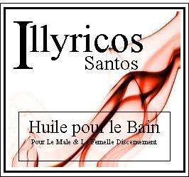 illyricos santos bath oil