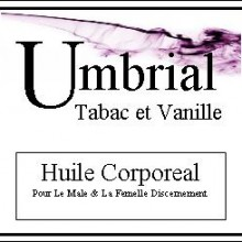 Umbrial Tabac et Vanille Body Oil