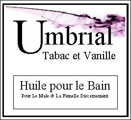 Umbrial Bath Oil