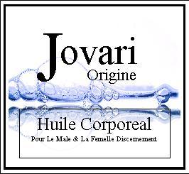 Jovari Body Oil