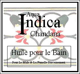 indica chandana bath oil
