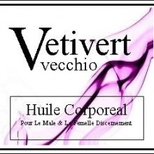vetivert vecchio body oil