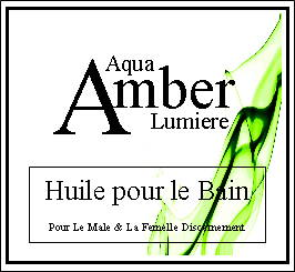 amber lumiere bath oil