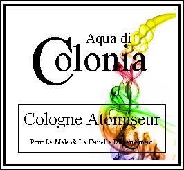 aqua di colonia cologne atomiseur