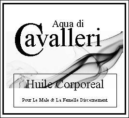 Aqua di Cavalleri Huile Corporeal