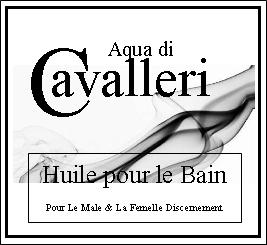 Aqua di Cavalleri Huile pour le Bain