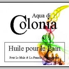 aqua di colonia-huile-pour le bain