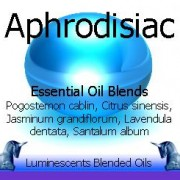 aphrodisiac blended essential oils