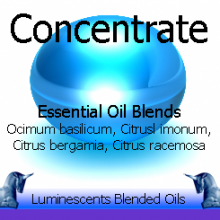 concentrate blended essential oils