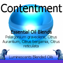 contentment blended essential oils