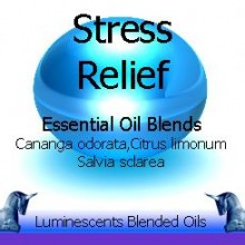 stress relief blended essential oils