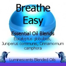 breathe easy blended essential oils