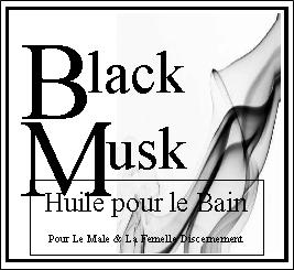 Black Musk Huile pour le Bain