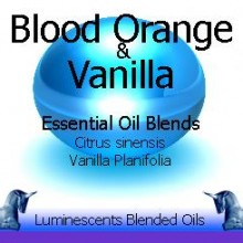 Blood Orange and Vanilla Blended Essential Oils