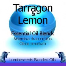 Tarragon and lemon blended essential oils