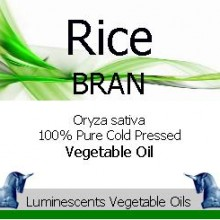 Rice Bran vegetable Oil cold pressed