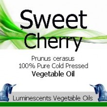 sweet cherry cold pressed oil