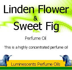 Linden Flower and sweet fig perfume oil