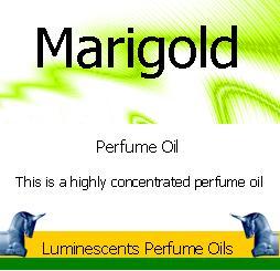 Marigold perfume oil