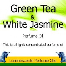 Green Tea and White Jasmine Perfume Oil