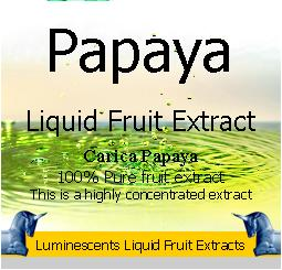Papaya Liquid Fruit Extract