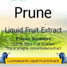 Prune liquid fruit extract