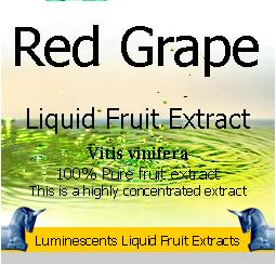 Red Grape Liquid Fruit Extract