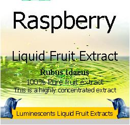 raspberry liquid fruit extract