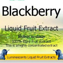 Blackberry liquid fruit extract