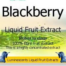 Blackberry liquid fruit extract